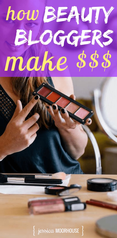 Make money blogging | Make money online | Make money from home | Beauty blogger | Beauty bloggers to follow | Beautezine #makemoneyblogging #fulltimeblogger #beautyblogger