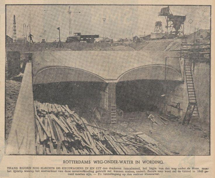 Aanleg Maastunnel - bewri