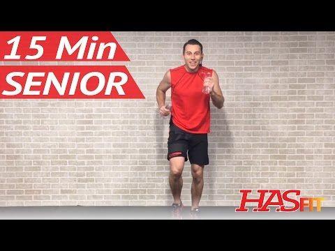15 Minute Senior Workout - Low Impact Exercises for Seniors Elderly Men & Women Older People - YouTube