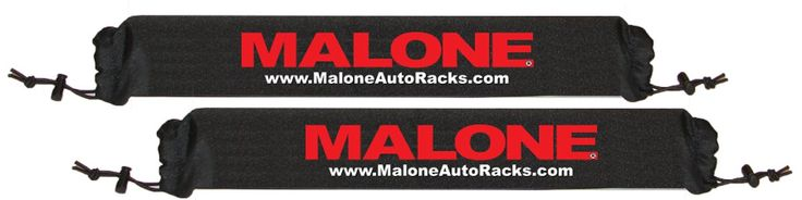 Malone Roof Rack Pads for Kayaks, SUPs/Surfboards (18-Inch)