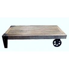 Luigi solid elm coffee table