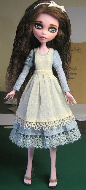MH pinafore done by Raccoons Rags, via Flickr