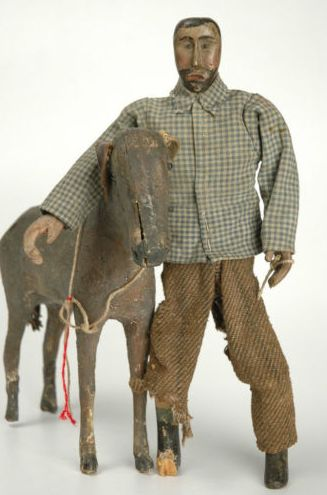 Anonymous Works: A Man and His Donkey