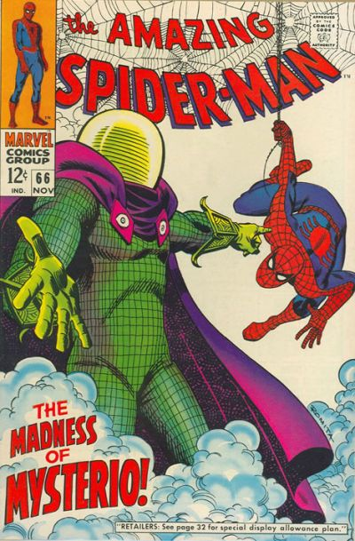 My beloved Mysterio in a classic cover by Jazzy John Romita