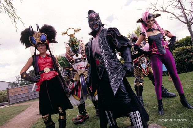 Power Rangers Ninja Storm publicity still of and others