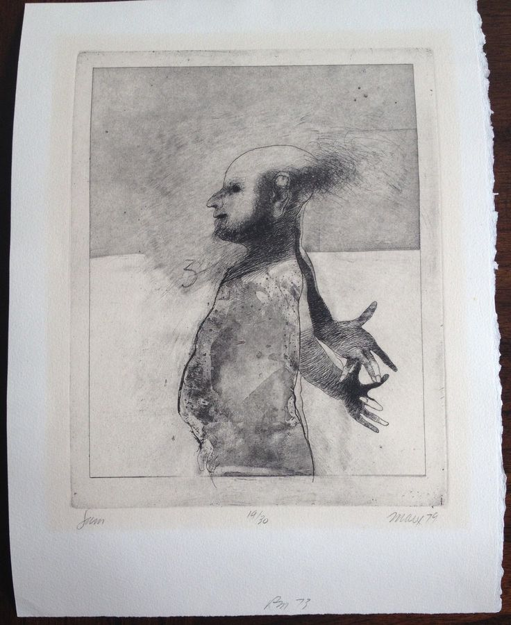 Robert Ernst Marx Etching 1979 19 30 Signed | eBay