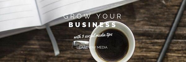3 tips from social media