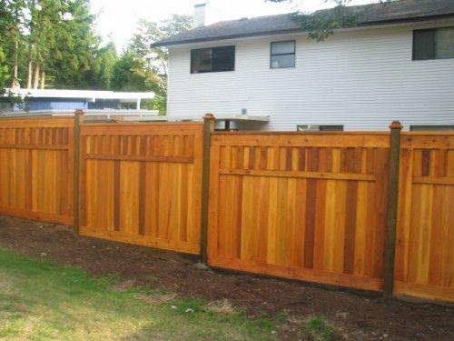 24 Best Images About Cedar Fence Design On Pinterest