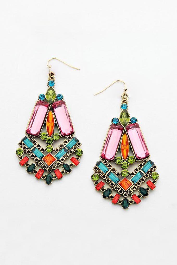 Danika Earrings in Madori on Emma Stine Limited