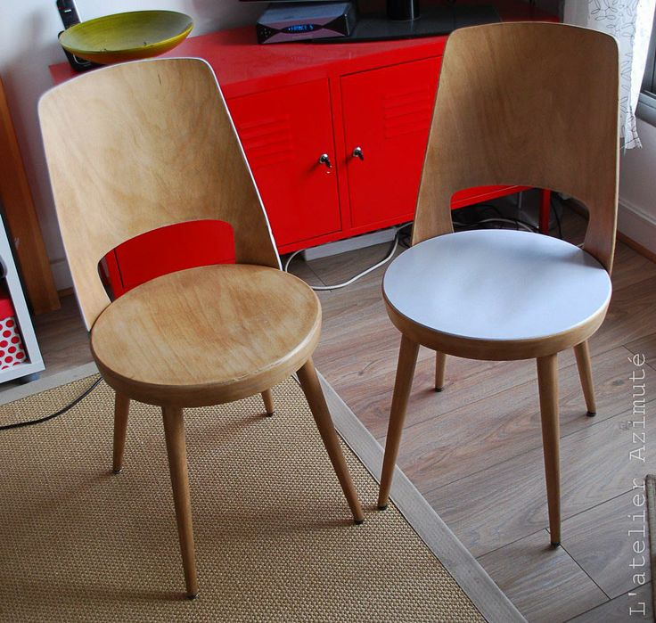 chaises Baumann remises en état