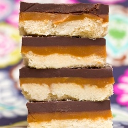 Homemade Twix Bars by SugarSpiceByCeleste