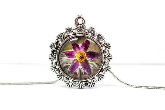 Pulsatilla Necklace