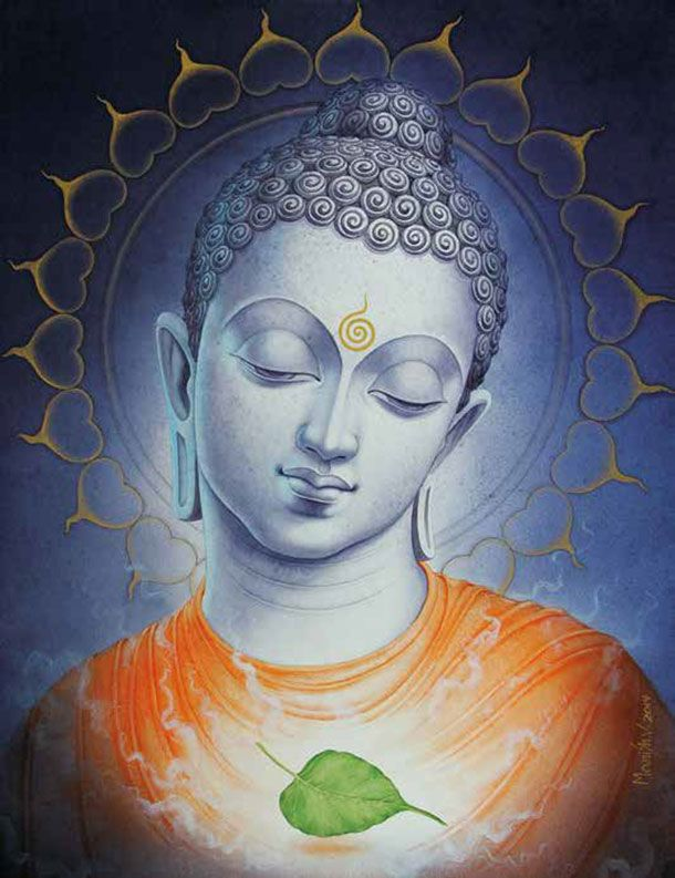 The 25 best ideas about buddha painting on pinterest for Buddha mural paintings