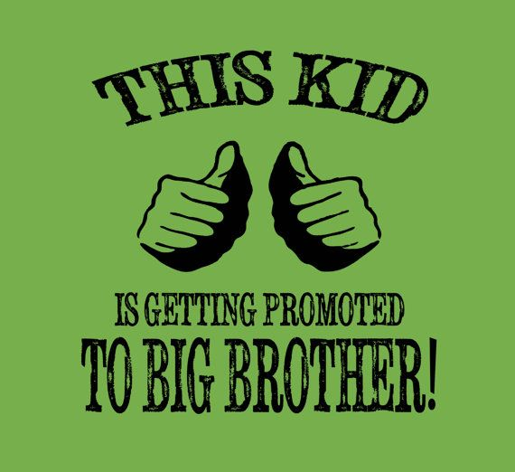 Big Brother Shirt New Baby Announcement Little by FunhouseTshirts, $14.99