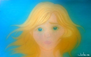 My Dream 3, 2009, oil pastel by Jolene Hachey