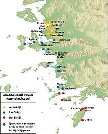 Vorsokratiker Antike Griechische Stadte An Der Westkuste Der