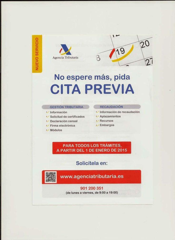 Pedir cita previa en Hacienda (AEAT) #Contable  http://blgs.co/owbz4r