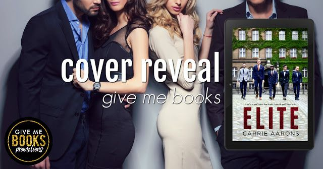 Chatterbooks Book Blog: Cover Reveal: Elite by Carrie Aarons