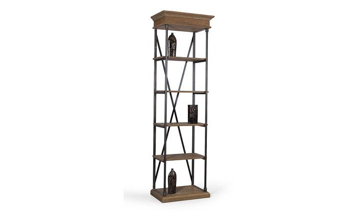 Descripccion: Acabado Roble antiguo. Realizada en madera de roble y hierro forjado. ... Eur:806 / $1071.98