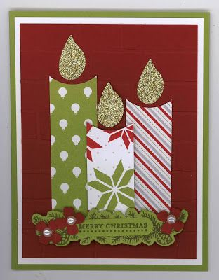 Candles Flickering - Christmas X10 Card
