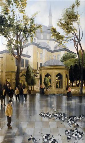 Eyüp Sultan Camii, Faruk Cimok