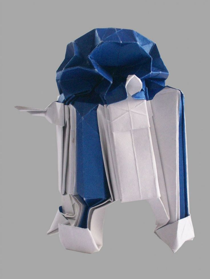 fold a paper R2-D2 and other awesome Star Wars origami...