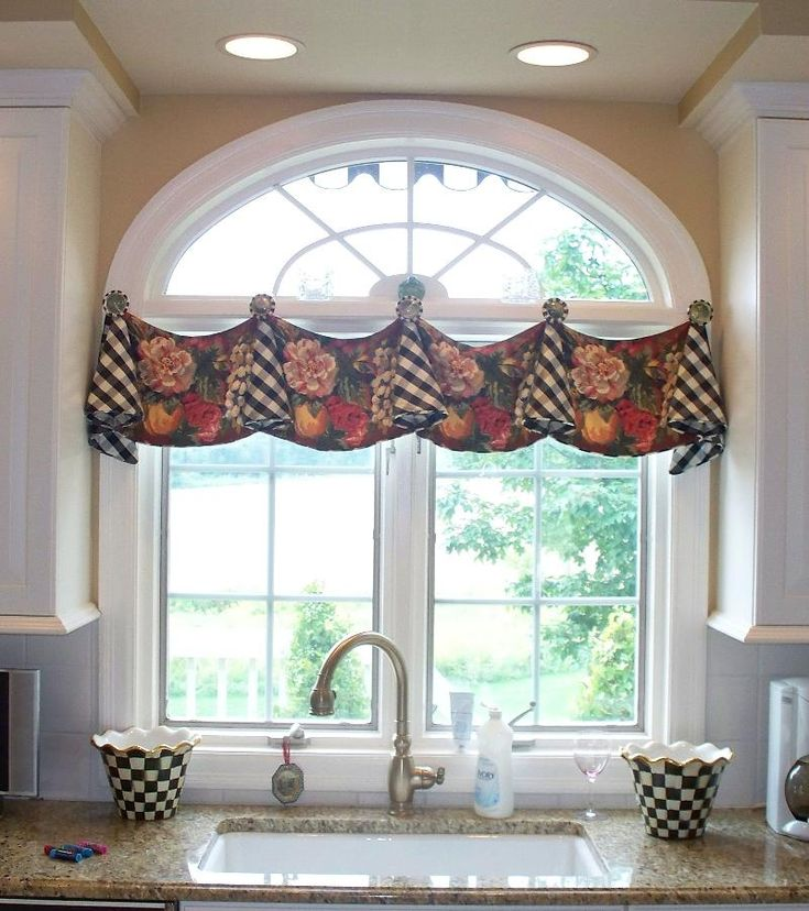 Best 25 country window treatments ideas on pinterest for Arched kitchen window treatment ideas