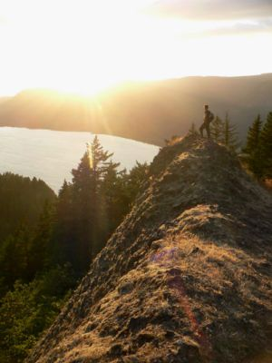 10 mi. difficult. Rock of Ages Loop Hike - Hiking in Portland, Oregon and Washington