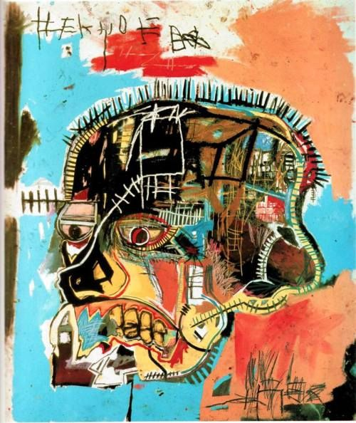 Untitled (Skull) – Jean-Michel Basquiat