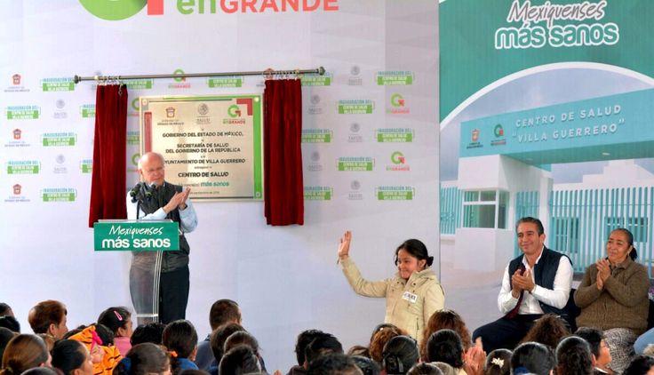 Inauguran Centro de Salud Urbano de Villa Guerrero, Estado de México - http://plenilunia.com/novedades-medicas/inauguran-centro-de-salud-urbano-de-villa-guerrero-estado-de-mexico/41632/