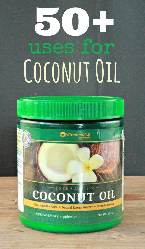 Uses for Coconut Oil:  50 Unique Ideas and Suggestions