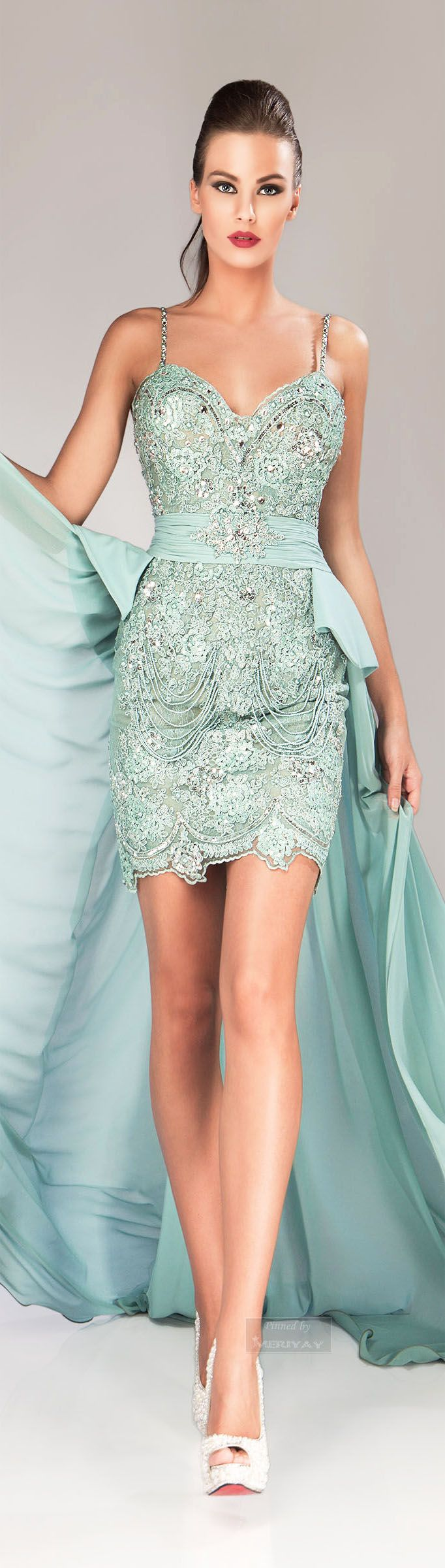 Class never goes out of style. -  Hanna Toumajean Fall-winter 2014-2015.