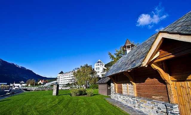 Hotel Ullensvang in Lofthus, Norway, by Morten Falch Sortland, via Flickr