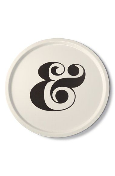 kate spade new york ampersand serving tray available at #Nordstrom