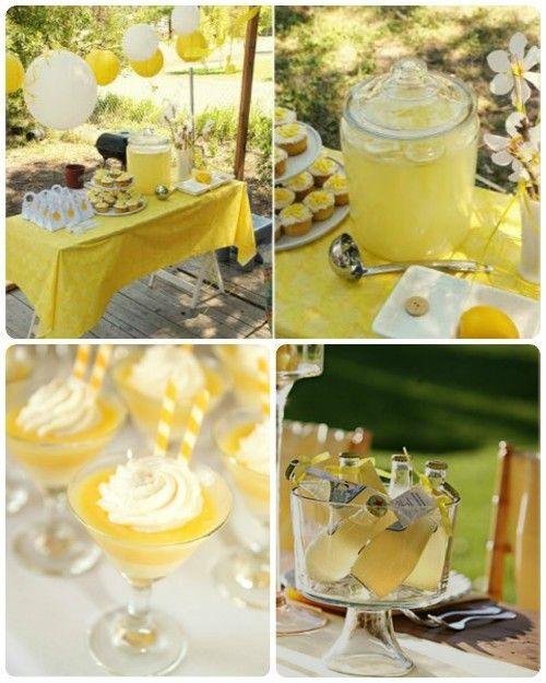 Wedding White And Yellow: Yello And Burlap Bridal Shower