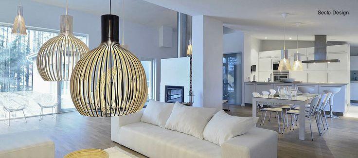 Skandinavische Designermöbel und Lampen