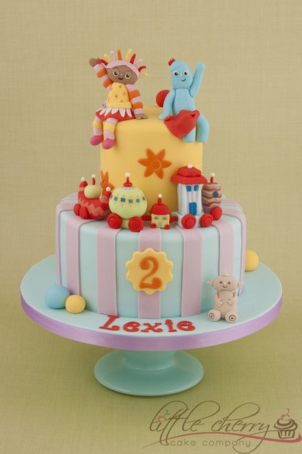 In the Night Garden Cake - by littlecherry @ CakesDecor.com - cake decorating website
