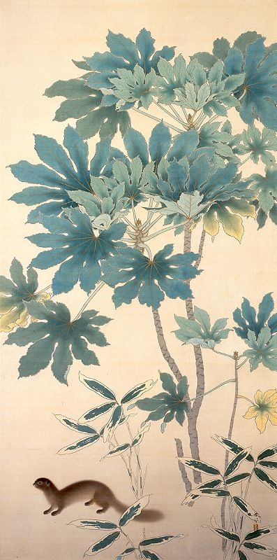 """""""秋 (Autumn)"""", Hishida Shunsō."""