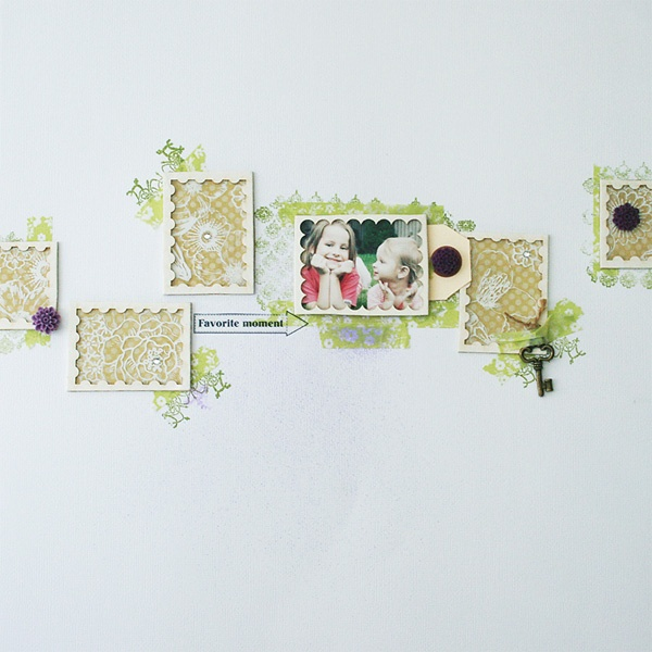 traditional scrapbook page by todido