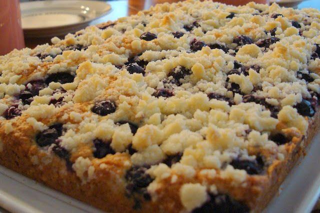 Mennonite Girls Can Cook: Quick Blueberry Streusel (Platz) - Flashback Frida...