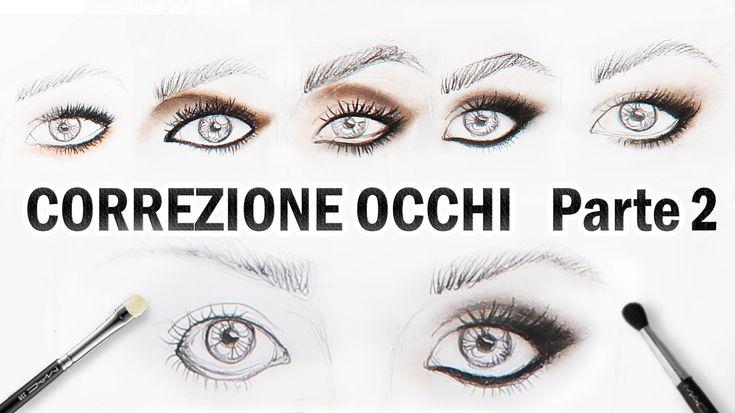 Trucco Correttivo Occhi PICCOLI,GRANDI,CADENTI