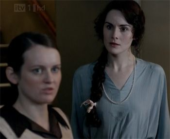 Daisy saves the day on Downton Abbey Season 3 Episode 3