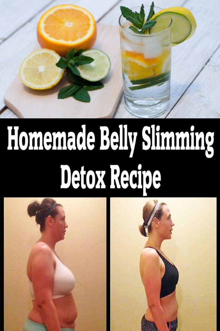 Homemade Belly Slimming Detox Recipe