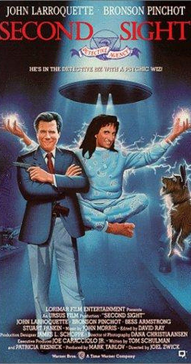 Directed by Joel Zwick.  With John Larroquette, Bronson Pinchot, Bess Armstrong, Stuart Pankin. John Larroquette is the head of a detective agency that is hired to find a missing person, probably kidnapped. They employ the help of a mystic/psychic to help find the missing girl.