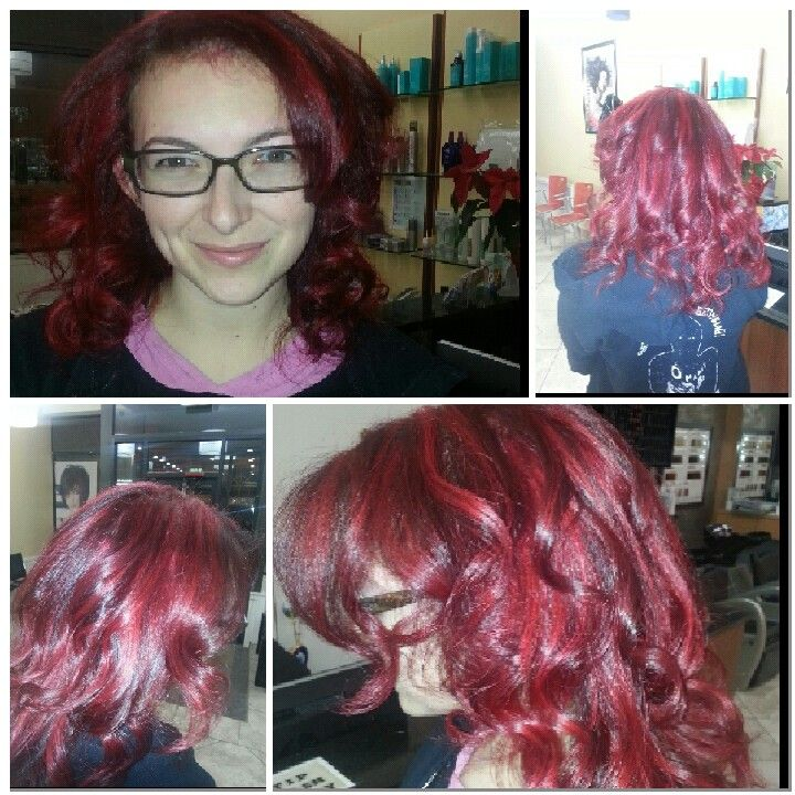 Hair color by Layla at IN STYLE HAIR STUDIO AND DAY SPA 5136 w Irving park rd Chicago ill 60641