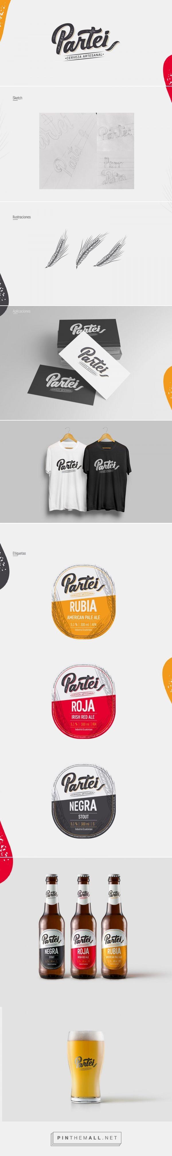 Partei Craft Beer - Packaging of the World - Creative Package Design Gallery - http://www.packagingoftheworld.com/2018/01/partei-craft-beer.html