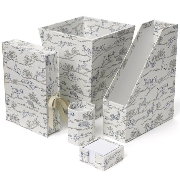 Hedgerow Desk Accessories Nina Campbell