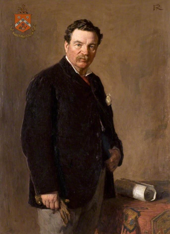 +Portrait of James Duncan of Jordanstone (1825–1909) by Sir George Reid (Scottish 1841–1913) - (University of Dundee, Duncan of Jordanstone College Collection) #movember