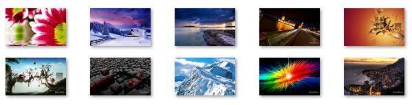 December 2011 Calendar Windows 7 Theme