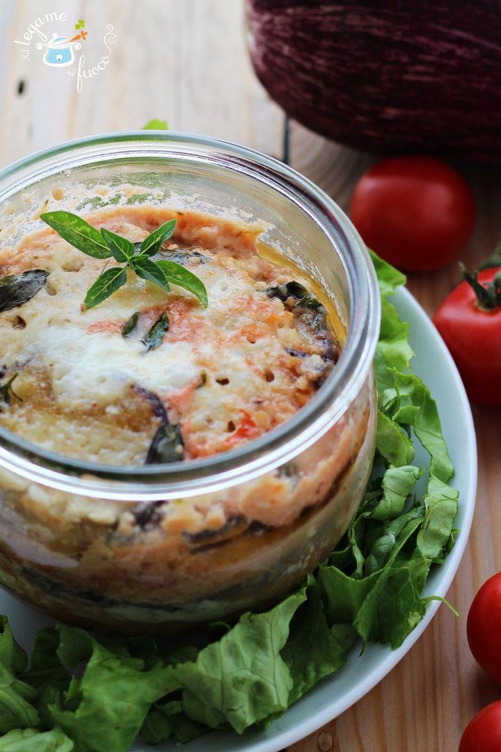 PARMIGIANA DI PESCE   grazie alla #vasocottura si rivelerà un esplosione di gusto!  #cookingjar
